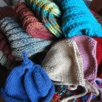 Knitting. No, Not Painting