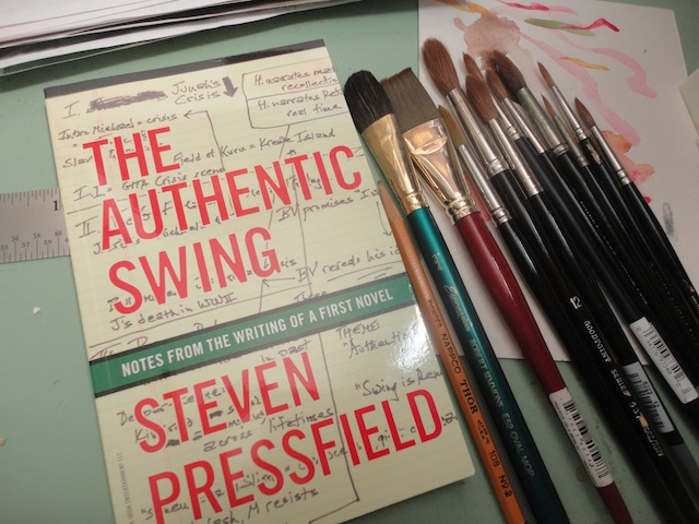 The Authentic Swing, by Steven Pressfield